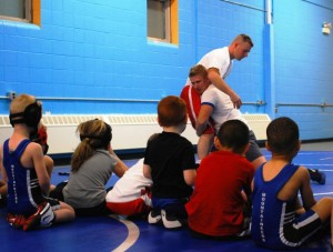 Wrestling coaching